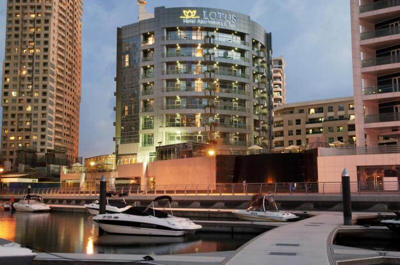 Lotus Hotel Apartments & Spa Marina 4*